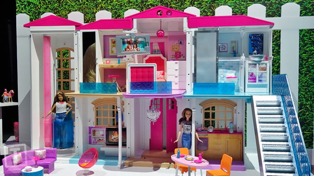 hello barbie dream house voice activated smart home s is a  wi fi connected
