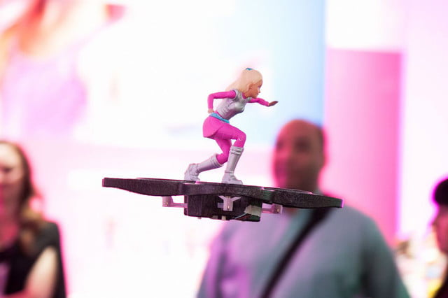 barbie flying hover board starlight adventure rc hoverboard