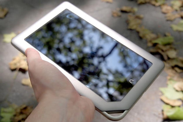 "The Barnes and Noble Nook Tablet is good looking, although some users might find the 7"" form factor too small."