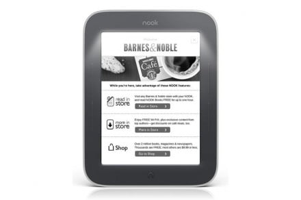 Barnes-Noble-Nook-Simple-Touch-with-GlowLight-review-front-screen