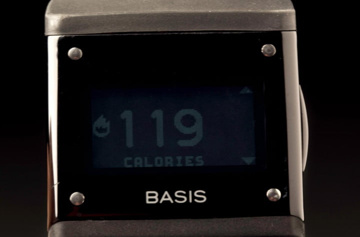 basis b  review watch front screen