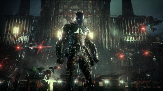 arkham knight ps  patch fixes leaderboards batmanps header