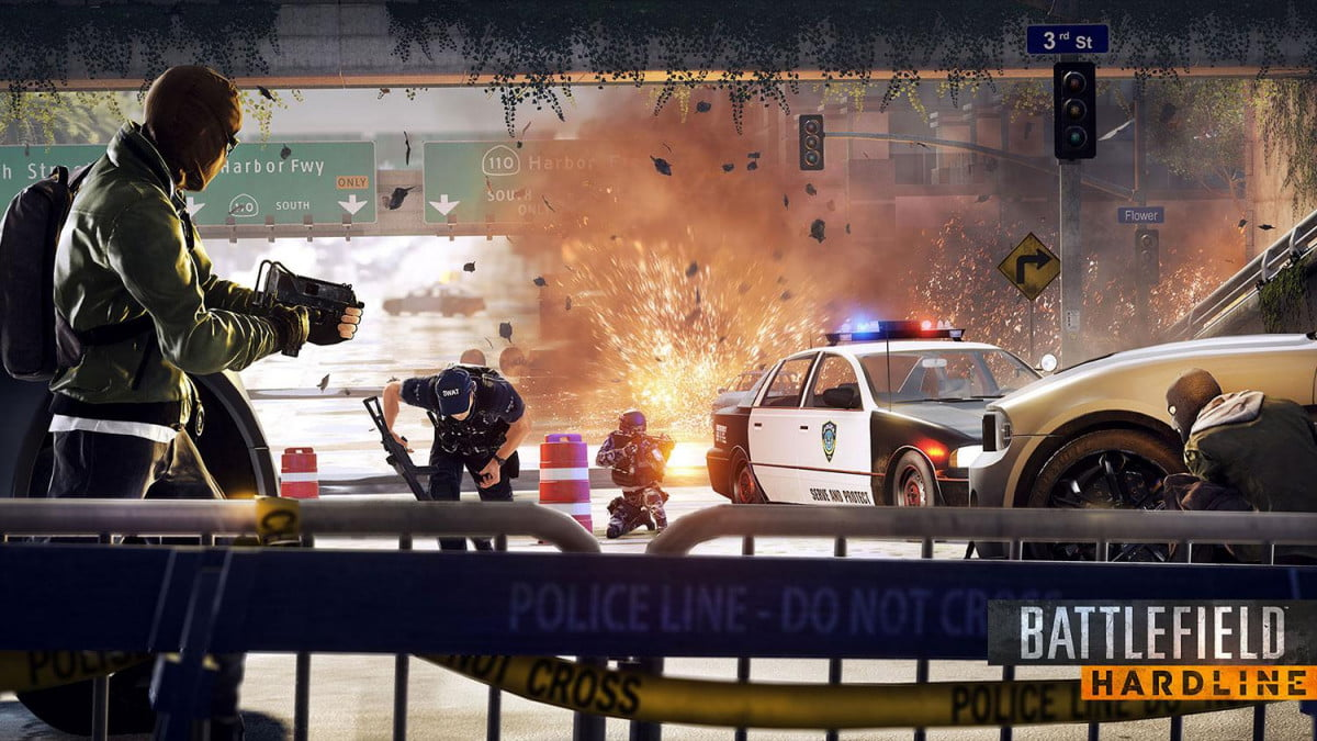 tune battlefield hardlines explosive tv like action  hardline interview