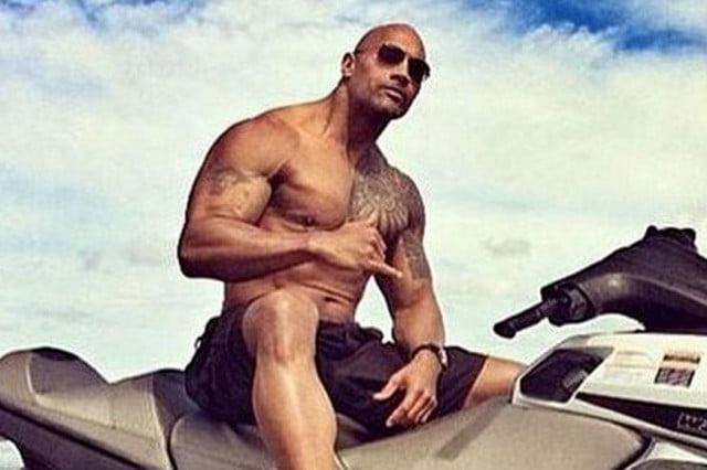 dwayne johnson black adam movie baywatch