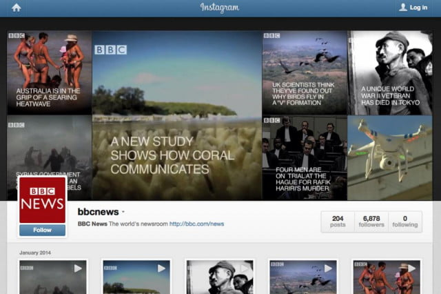 bbc launches instafax news service instagram