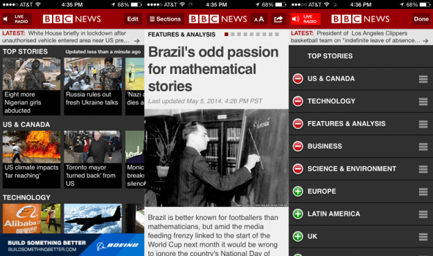 BBC News Screens