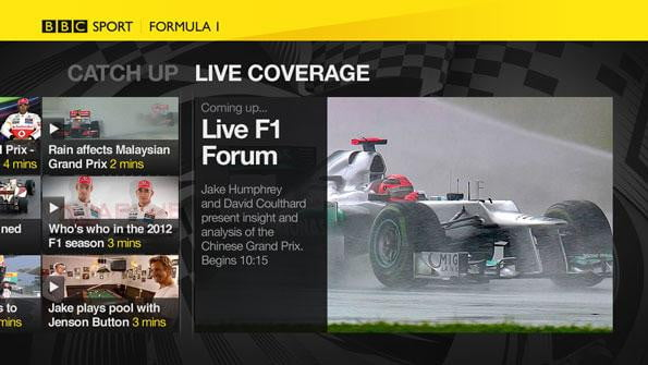 BBC sports app released for PSN