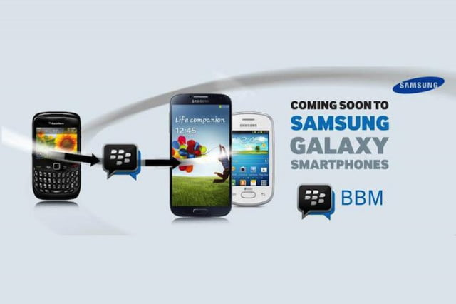 blackberry and samsung join forces to push bbm app ghana