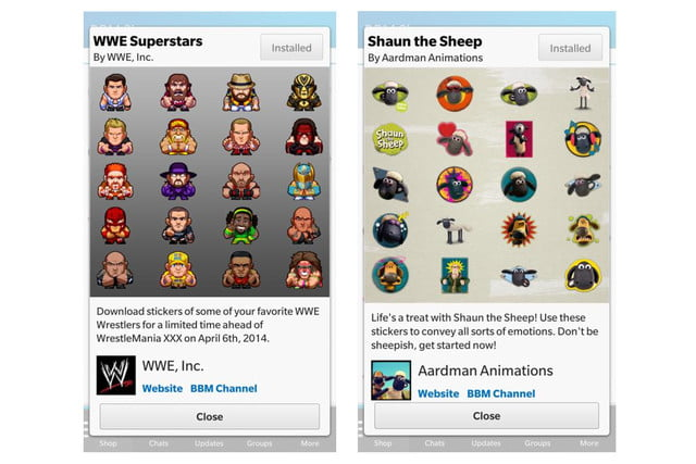 blackberry launches stickers for bbm