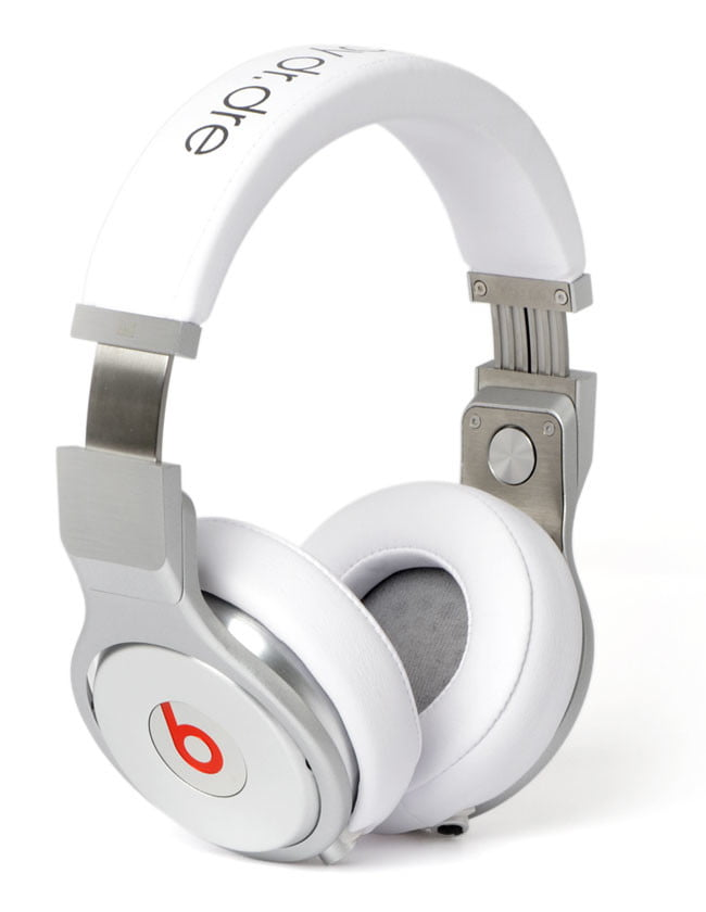 Monster Beats by Dr. Dre Pro White Front