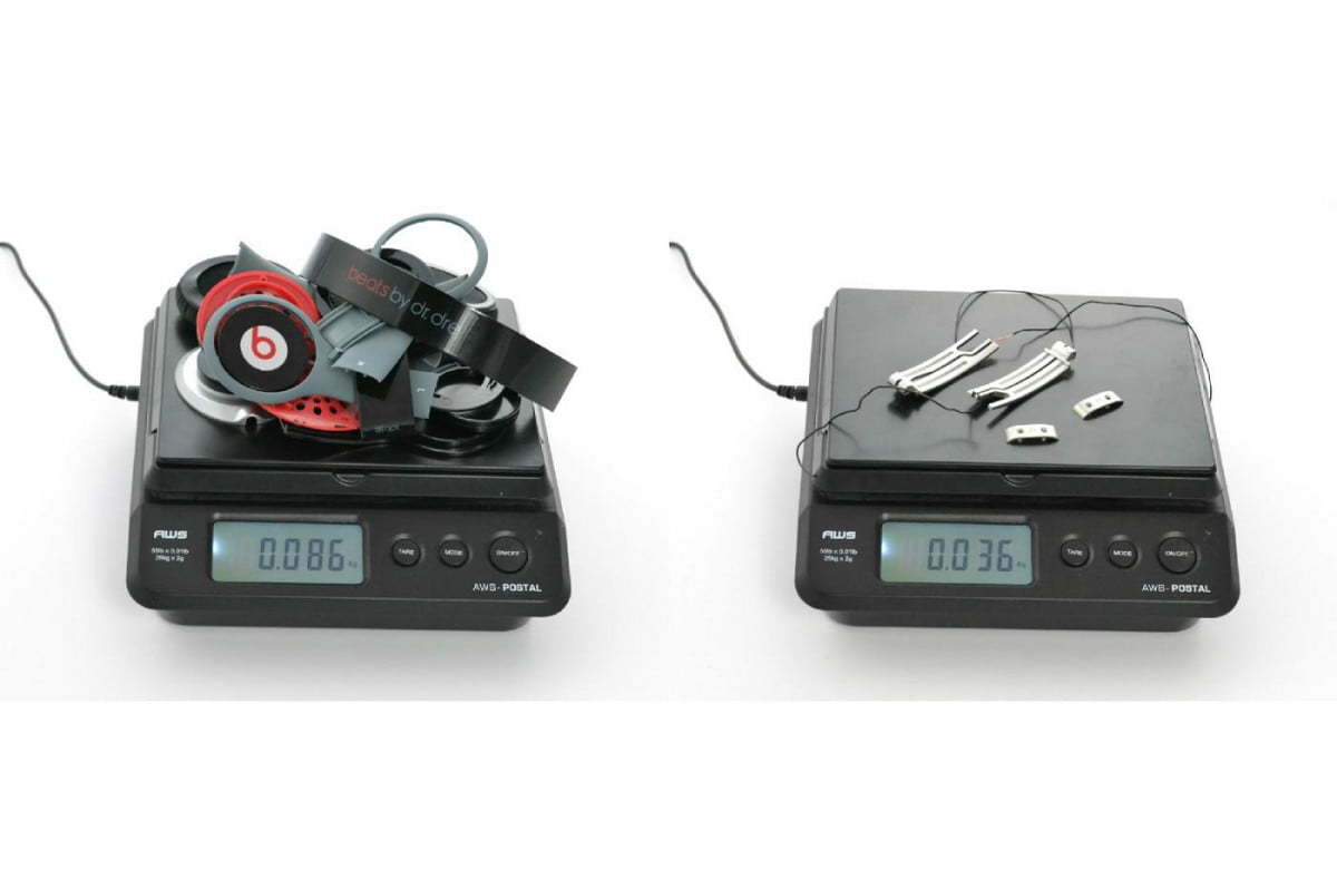 beats by dre headphones teardown finds metal parts included just to add weight solo