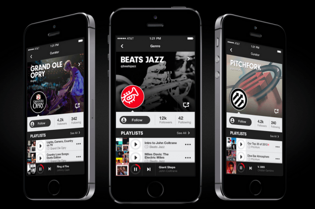 Beats Music playlists