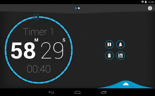 Beautiful_Timer_Android_tablet_app_screenshot
