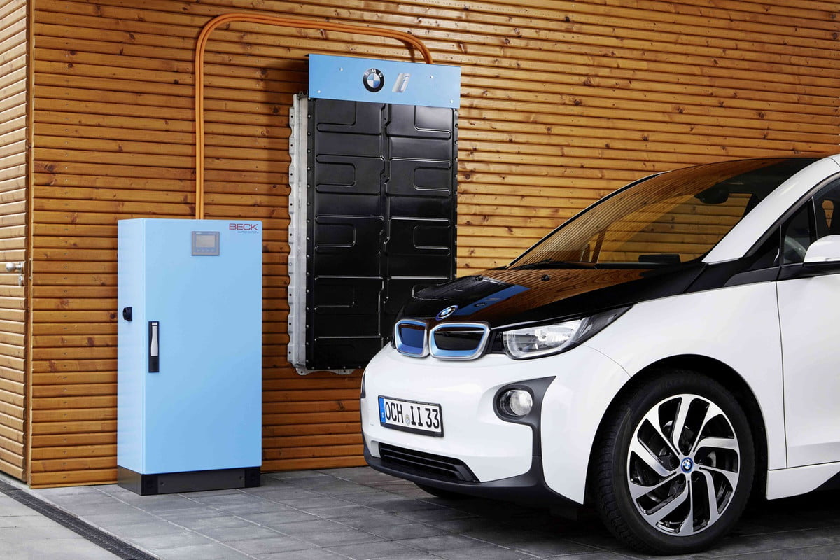 bmw home energy storage system i  electric car battery