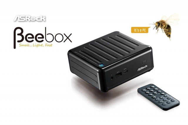 asrock shows off the first miniature computer with a usb type c port beebox