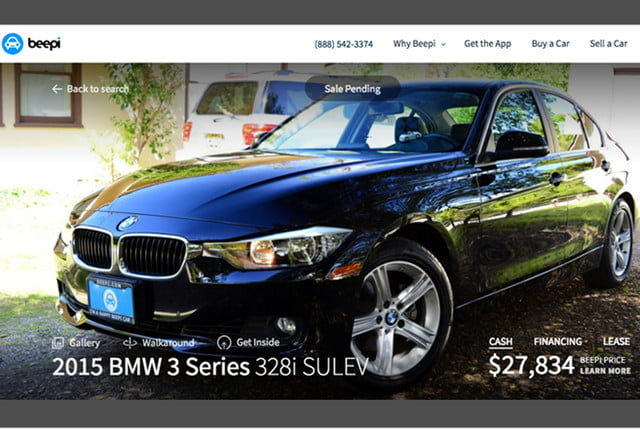 beepi online used cars nationwide leasing car virtual reality bmw  example x
