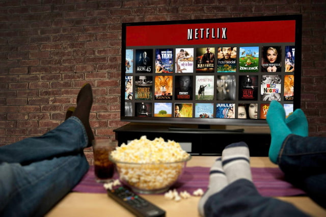 netflix replace tv behind the screens