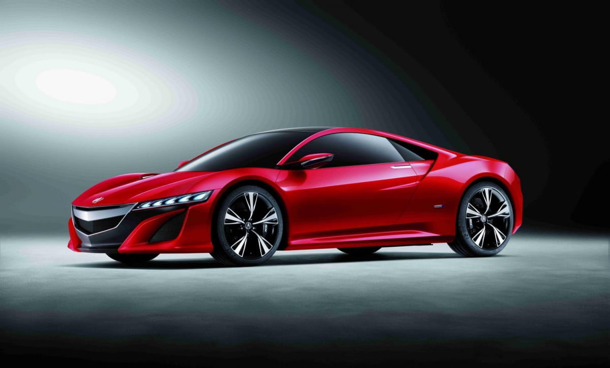 acura nsx will be built in ohio go on sale  concept