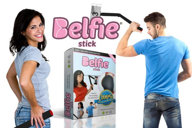it had to happen belfie stick helps you take the perfect butt pic