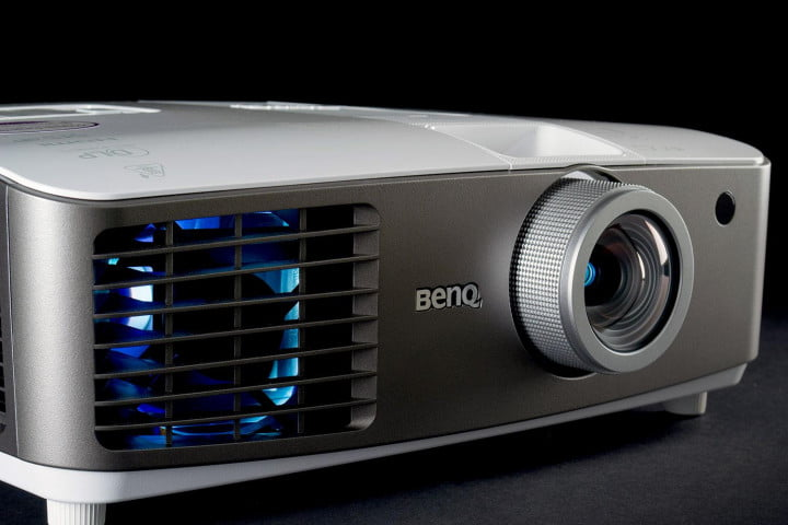 benq w  review projector frontoffset