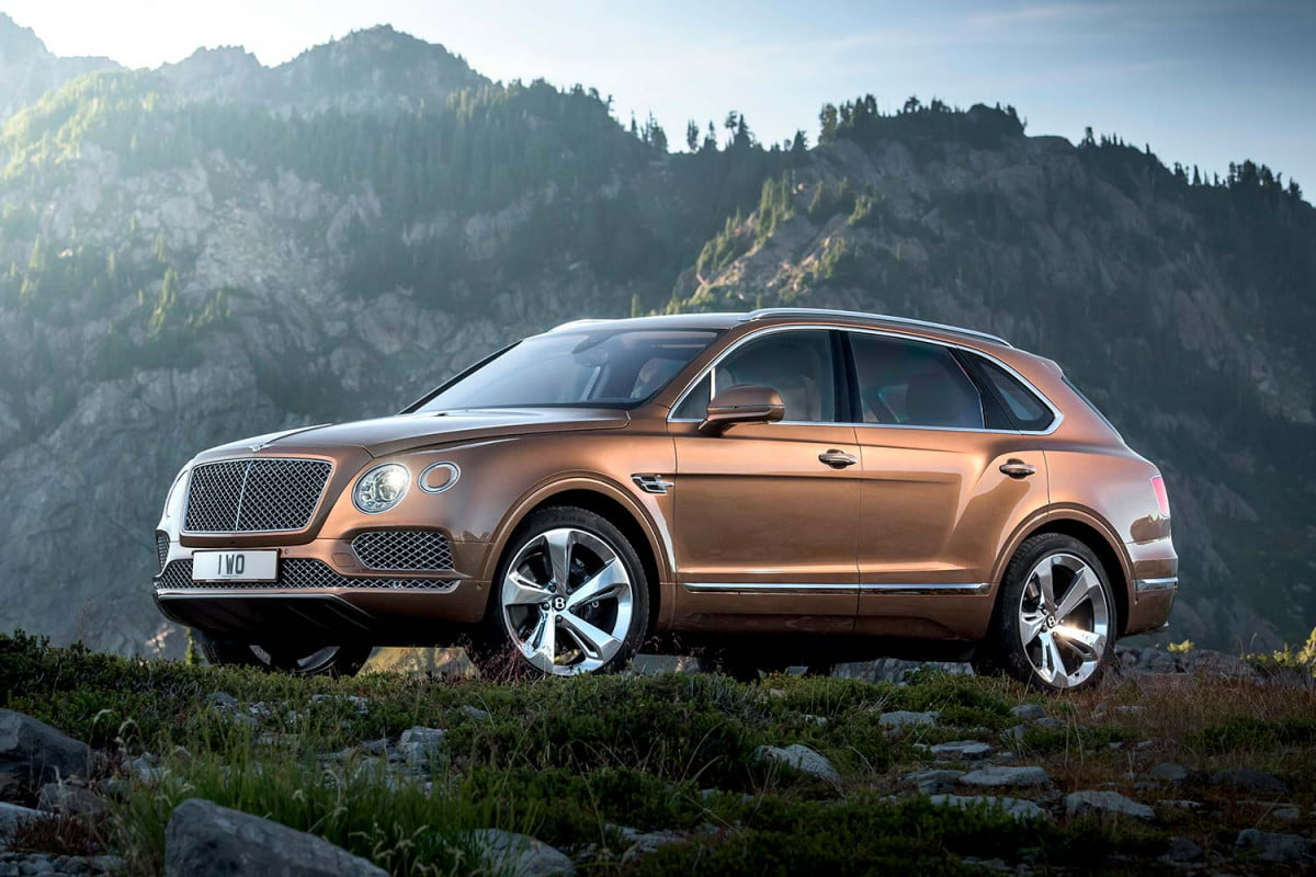 bentley bentayga sport coupe news rumors specs front three quarter static