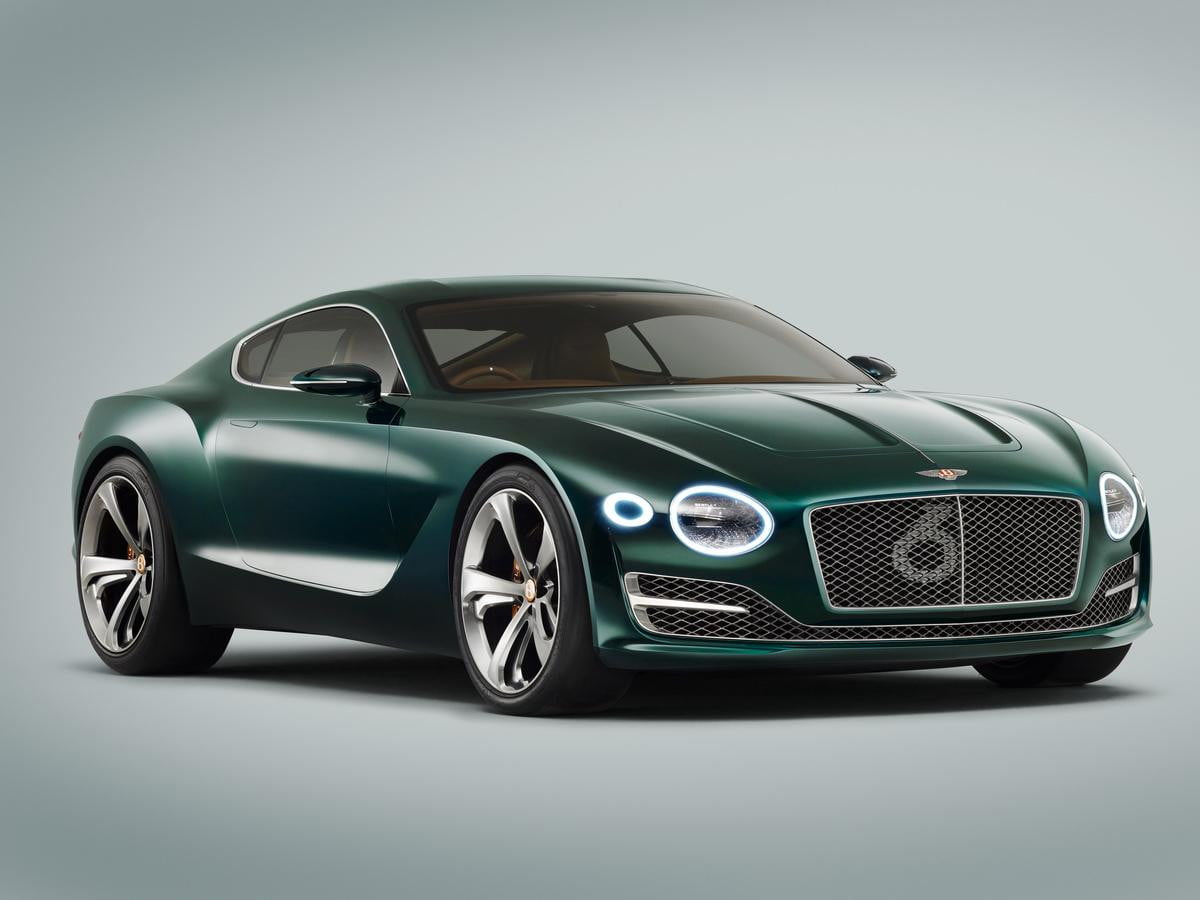 bentley sports car news performance rumors exp  speed
