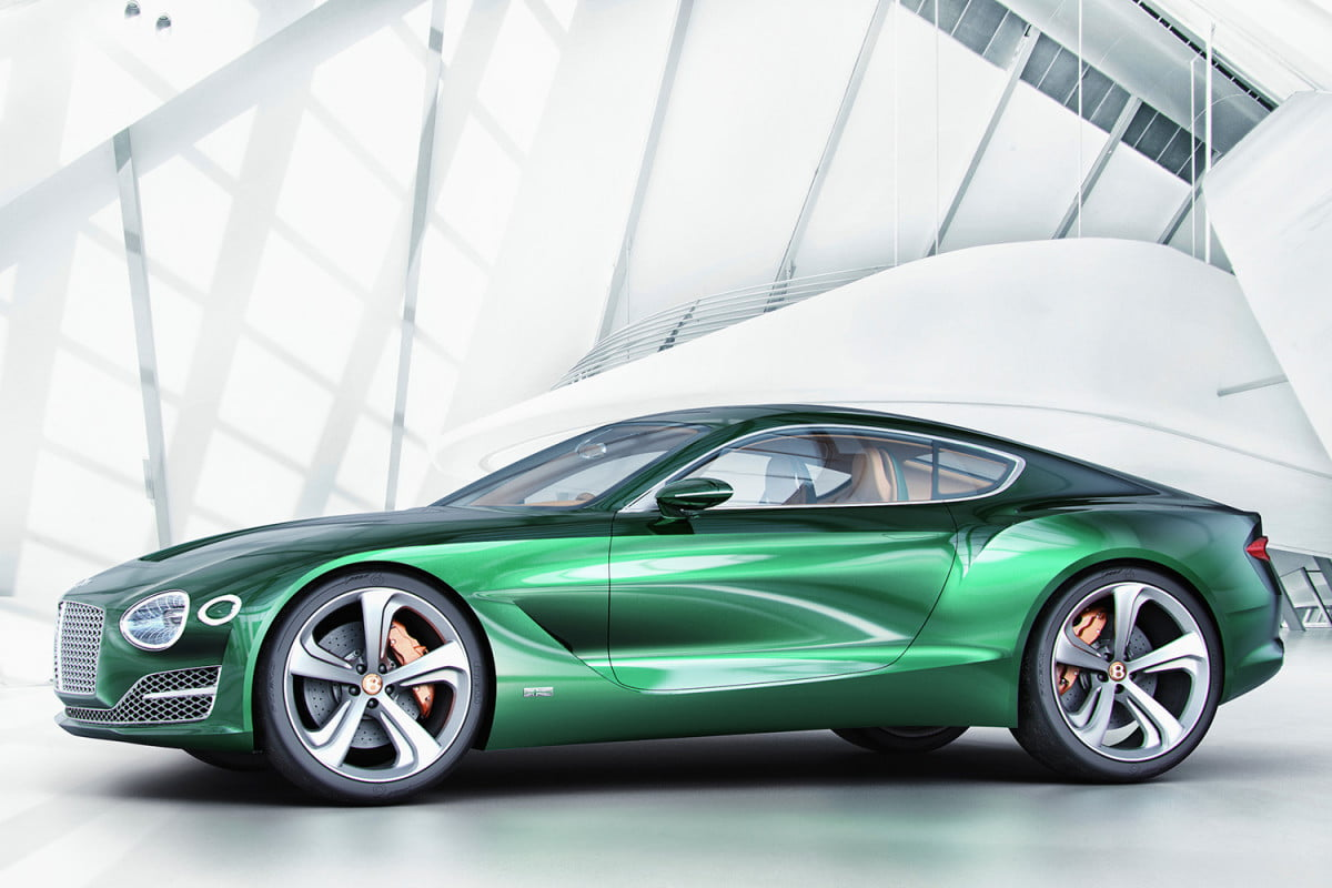 bentley considering electric car exp  speed official