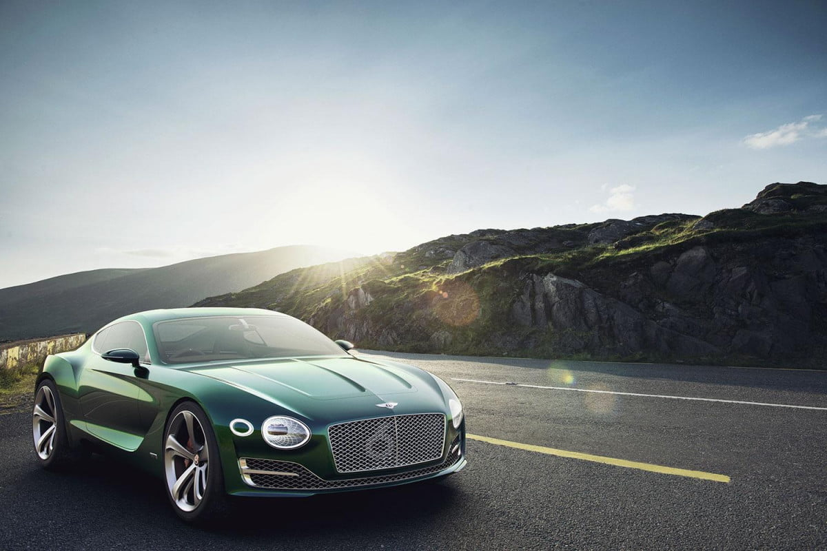 bentley electric coupe news specs performance exp speed outside press image