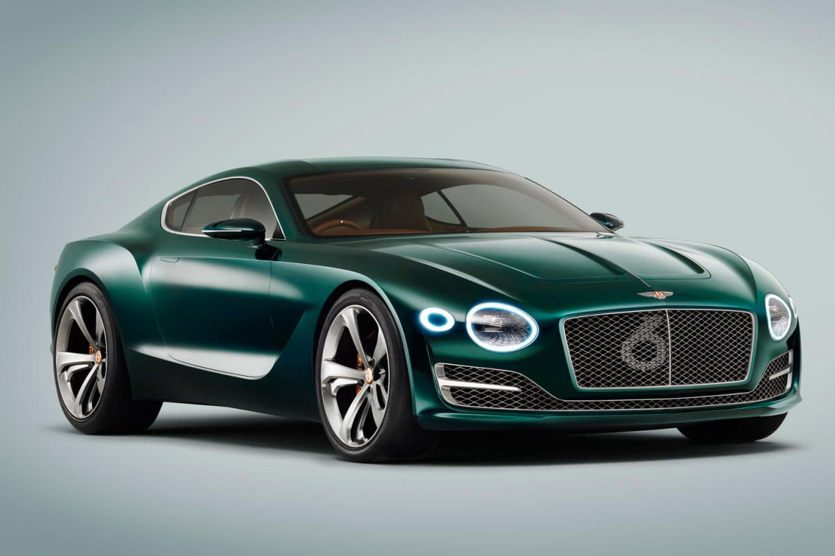 bentleys next vehicle to be either a sports car or mini suv bentley exp  speed press image
