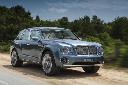 Bentley EXP 9F front angle