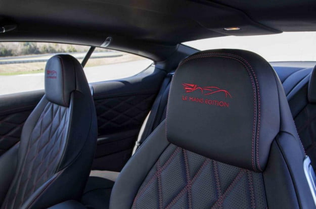 Bentley Continental GT Le Mans Limited Edition interior