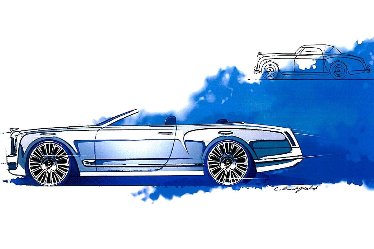bentley defies its long bodied lineage and axes plans for a mulsanne convertible concept cropped