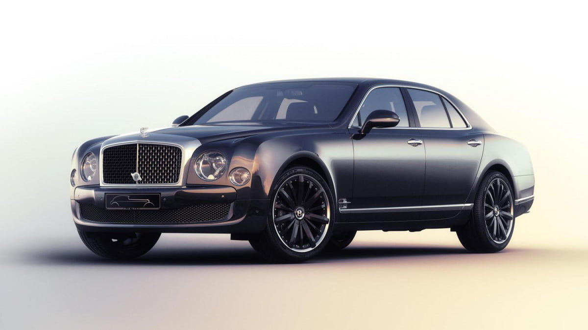 bentley mulsanne speed blue train edition news specs pictures