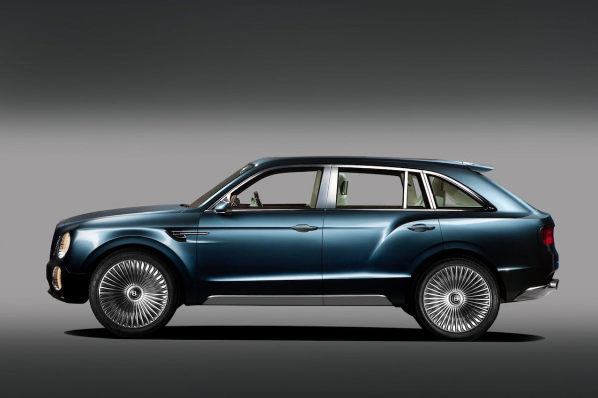 economy minded millionaire bentley planning diesel model v  suv completely different could be built in slovakia