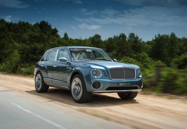 bentley hybrid suv dont look shocked coming  concept