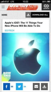 Best apps of the week 06_23_2013 NowThis News update