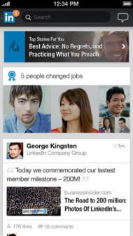 Best apps of the week LinkedIn Update screenshot