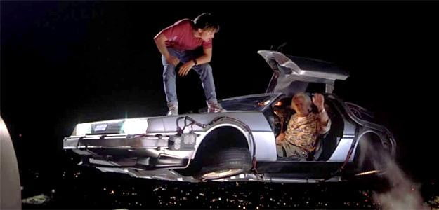 best cars header hollywood movies delorean back the future