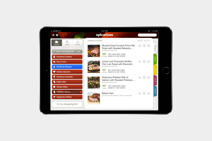 best-ipad-apps-epicurious