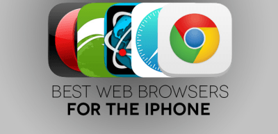 Best Web browsers for iPhone Header Image