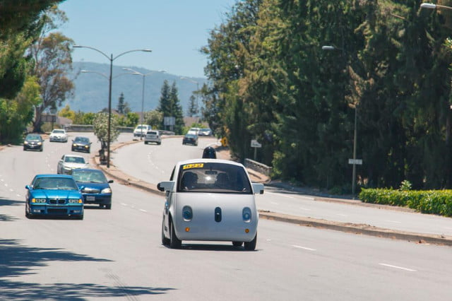 study self driving cars get into fewer crashes than with human drivers google car