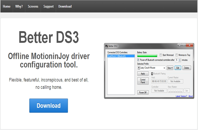 better ds3 tool download