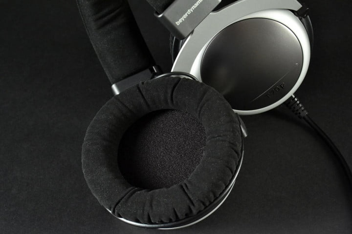 beyerdynamic t  p review hphones earpad