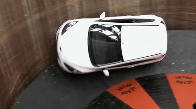 Beyond-motordrome-Mazda2-defies-gravity,-zoom-zooms-around-Wall-of-Death-(video)