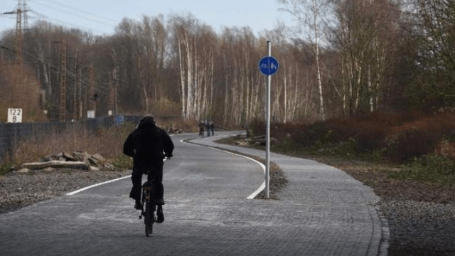 bicycle autobahn  km roadway german cyclists the is a kilometer built exclusively for