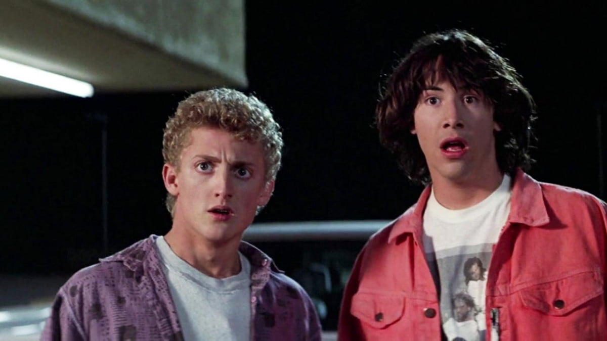 keanu reeves burden bill ted  and