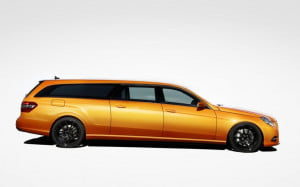 Binz Xtend Mercedes-Benz E-Class wagon X-Orange