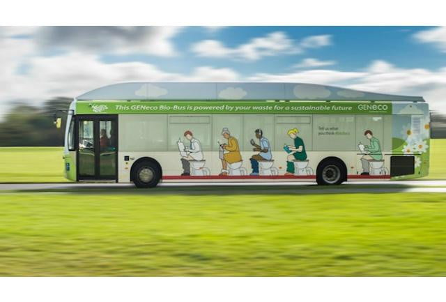 poop powered bus hits british roads bio