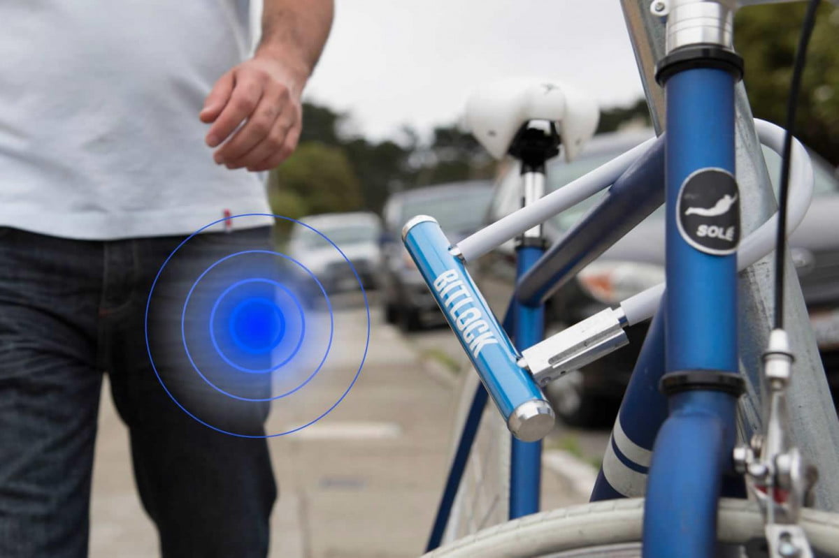 bitlock brings gps tracking and keyless entry to your bicycle