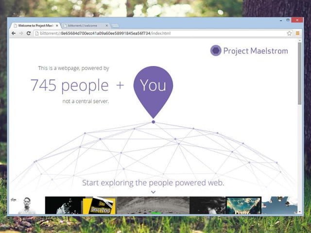 bittorrent launches its own web browser for windows maelstrom